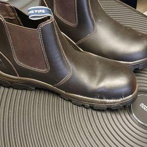 Bata work shoes steel cap brand new